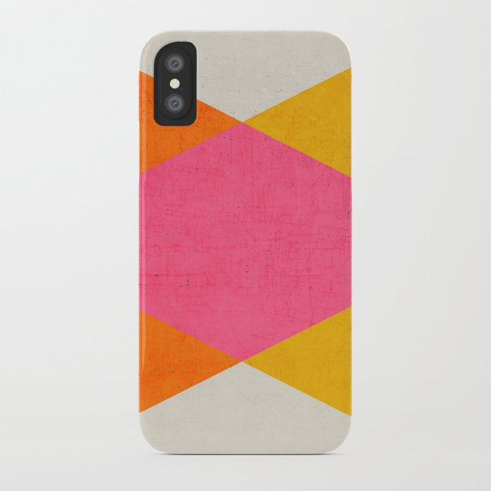 summer triangles iPhone Case
