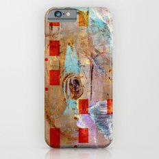 abstract in beige iPhone 6s Slim Case