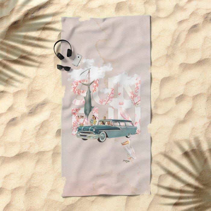 Sun Fun Beach Towel