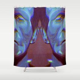 Frankenstein's Monster, Frankenstein, Monster Painting, Dark Art, Boris Karloff, Modern Prometheus Shower Curtain