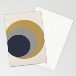 Nested Circles Stationery Cards