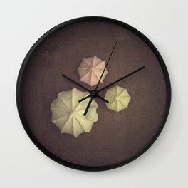 Meringues Wall Clock
