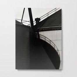 Factory Metal Print