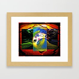While You Were Sleeping Framed Art Print