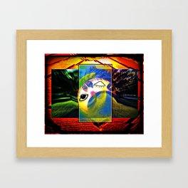 While You Were Sleeping Framed Art Print