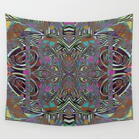 carnival Wall Tapestries featuring Carnival by Dan Ellwood