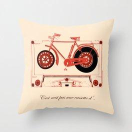Music Traveler Throw Pillow