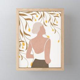 Soft Summer Breeze Framed Mini Art Print