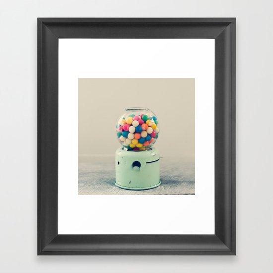 Candy Store Framed Art Print