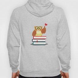 Owl Book Lover Hoody