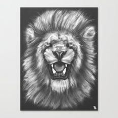 Courageous (Original drawing) Canvas Print