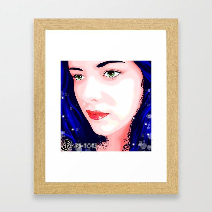 Carmen Mi Amor Framed Art Print
