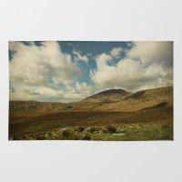 irish Area & Throw Rugs featuring Irish Skies by Sharon Johnstone
