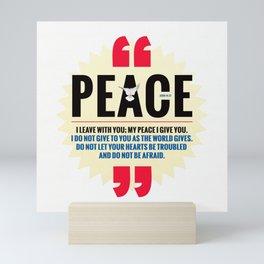 PEACE! Mini Art Print