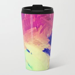 Wild Color Abstract Travel Mug