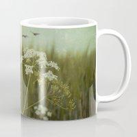 fringe Mugs featuring Fringe II by Dirk Wuestenhagen Imagery