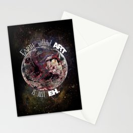 'Earth' Without 'Art' Is Just 'Eh' Stationery Cards