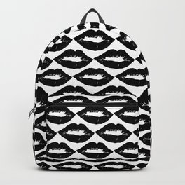 Summer time kisses seamless pattern Backpack