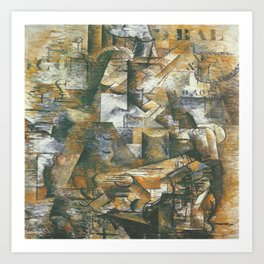 Georges Braque The Portugese Art Print