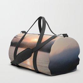 Reborn: Sunrise on Lake George Duffle Bag