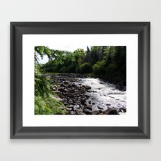 whitewater Framed Art Print
