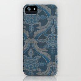 Blue Textile iPhone Case