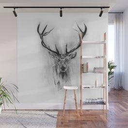 Red Deer Wall Mural