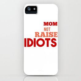 Mama Mother Child Education Gift iPhone Case