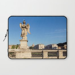 Angel with the Crown of Thorns at the Sant'Angelo bridge - Rome Laptop Sleeve