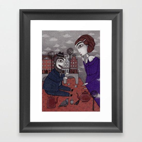 The Story Teller Framed Art Print