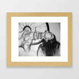 The Bends. Framed Art Print