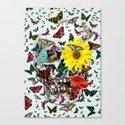 Skull Flowers Animals on MINT   Butterflies by notsniw