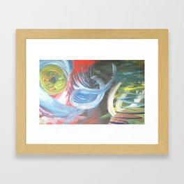 Love the West Abstract Art Santa Fe Art Framed Art Print