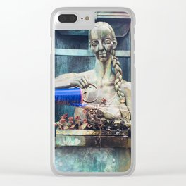 Woman Photography Clear iPhone Case