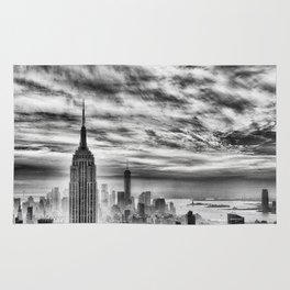 New York skyline cv Rug