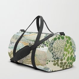 Reflection dream; earthen Duffle Bag