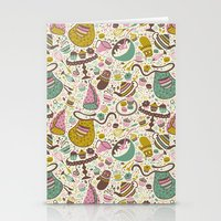 cupcakes Stationery Cards featuring Cupcakes  by Anna Deegan