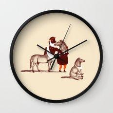 Horsies Wall Clock