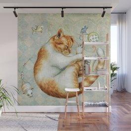 catnap Wall Mural