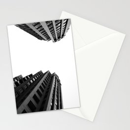Architecture Minimalism Black and White Photography Stationery Cards
