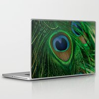 peacock Laptop & iPad Skins featuring Peacock by Olivia Joy St.Claire - Modern Nature / T