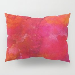 Crimson Pillow Sham