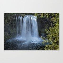 Koosah Falls No. 3 Canvas Print