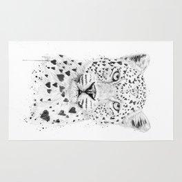Lovely leopard Rug