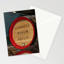 Guinness beer barrel - great man cave art! Stationery Cards