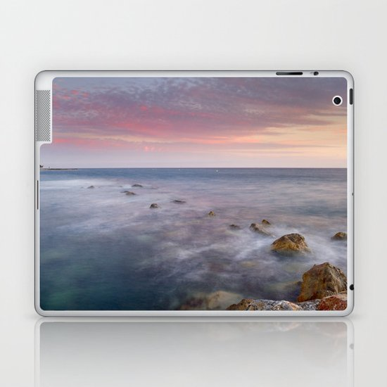 Pink seasunset Laptop & iPad Skin