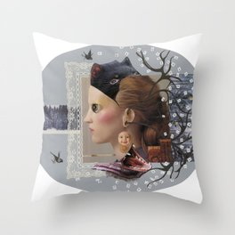 100 years of winter Throw Pillow