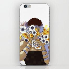 Sleep Under the Petals iPhone Skin