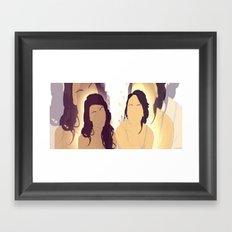 They Always Know Framed Art Print