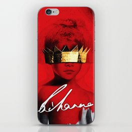 RIHANNA TOUR DATES 2019 MELATI iPhone Skin